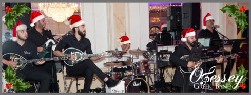 Christmas Greek Band facebook header