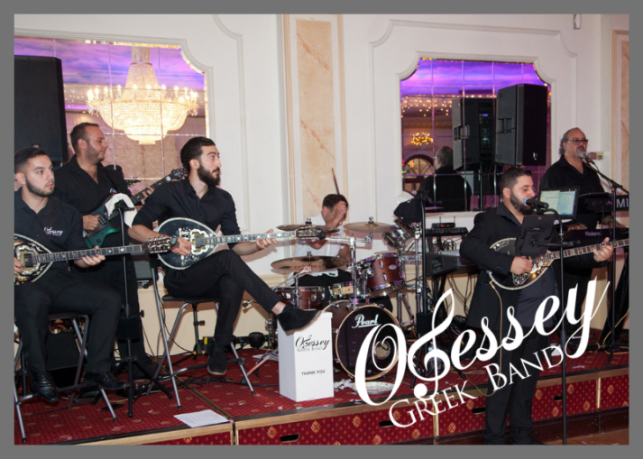 Greek Wedding Band at the Regency Tottenham