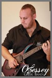 Live Greek Band Guitarist
